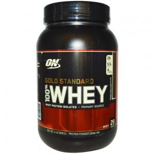 OptimumN Whey Gold 0,9kg (двойной шоколад)