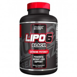Nutrex Lipo-6 Black 120caps