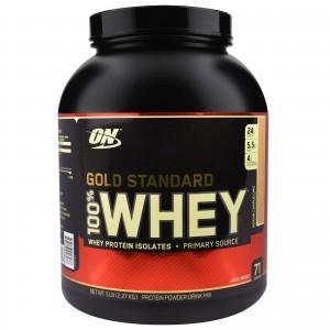 OptimumN Whey Gold 2.3kg кекс