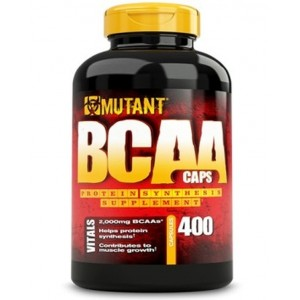 PVLnutrition Mutant BCAA 400caps