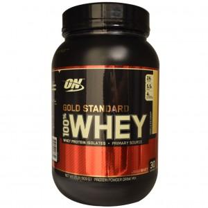 OptimumN Whey Gold 0,9kg (черничный пирог)